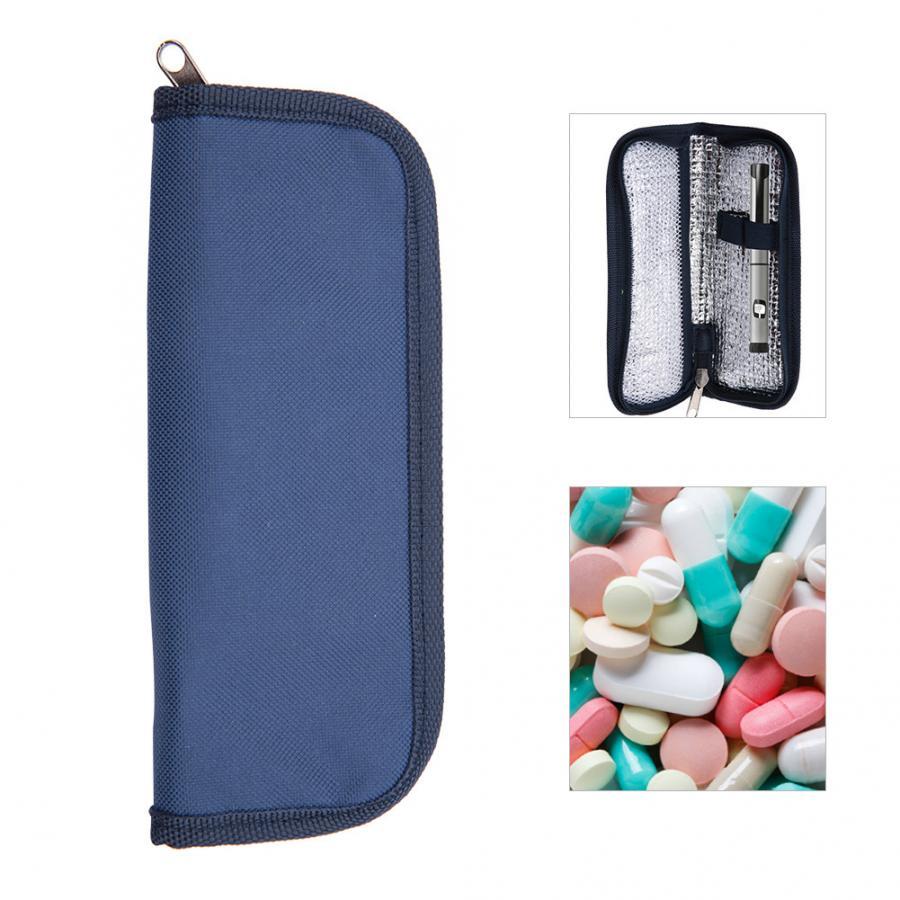 Isolados Saco do Refrigerador Médico portátil Insulin Do Diabético Cooler Insulin do Diabético Protector Travel Case Tinfoil Cooler de Refrigeração de Gelo