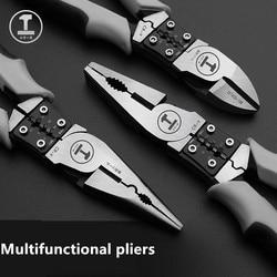 Alicate de fio multifuncional/torno labor-saving 7.5/8 Polegada alicate de fio de grau industrial alicate manual cromo aço molibdênio
