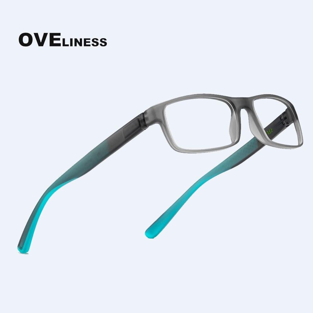 Gafas ópticas tr90 de moda para hombre, montura para gafas para hombres, gafas graduadas para miopía, monturas para gafas cuadradas