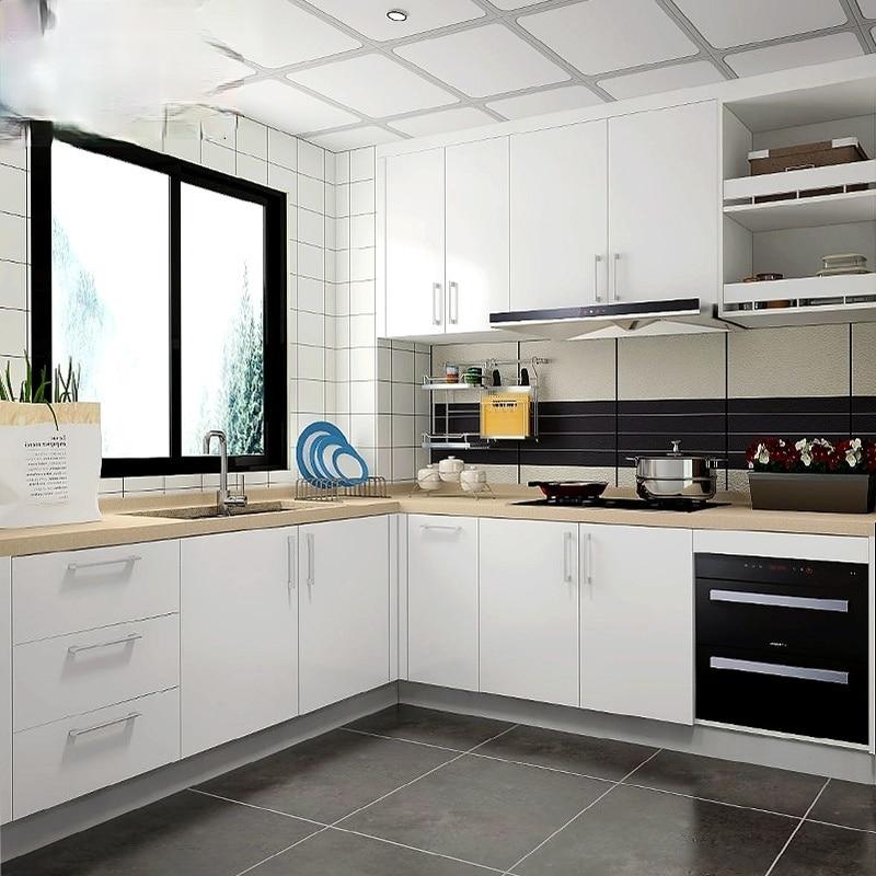 خزانة مخصصة عموما خزانة المطبخ الصغيرة المنزلية نوع بسيط الأبيض الاقتصادي الكوارتز الكوارتز الكوارتز خزانة سطح المكتب