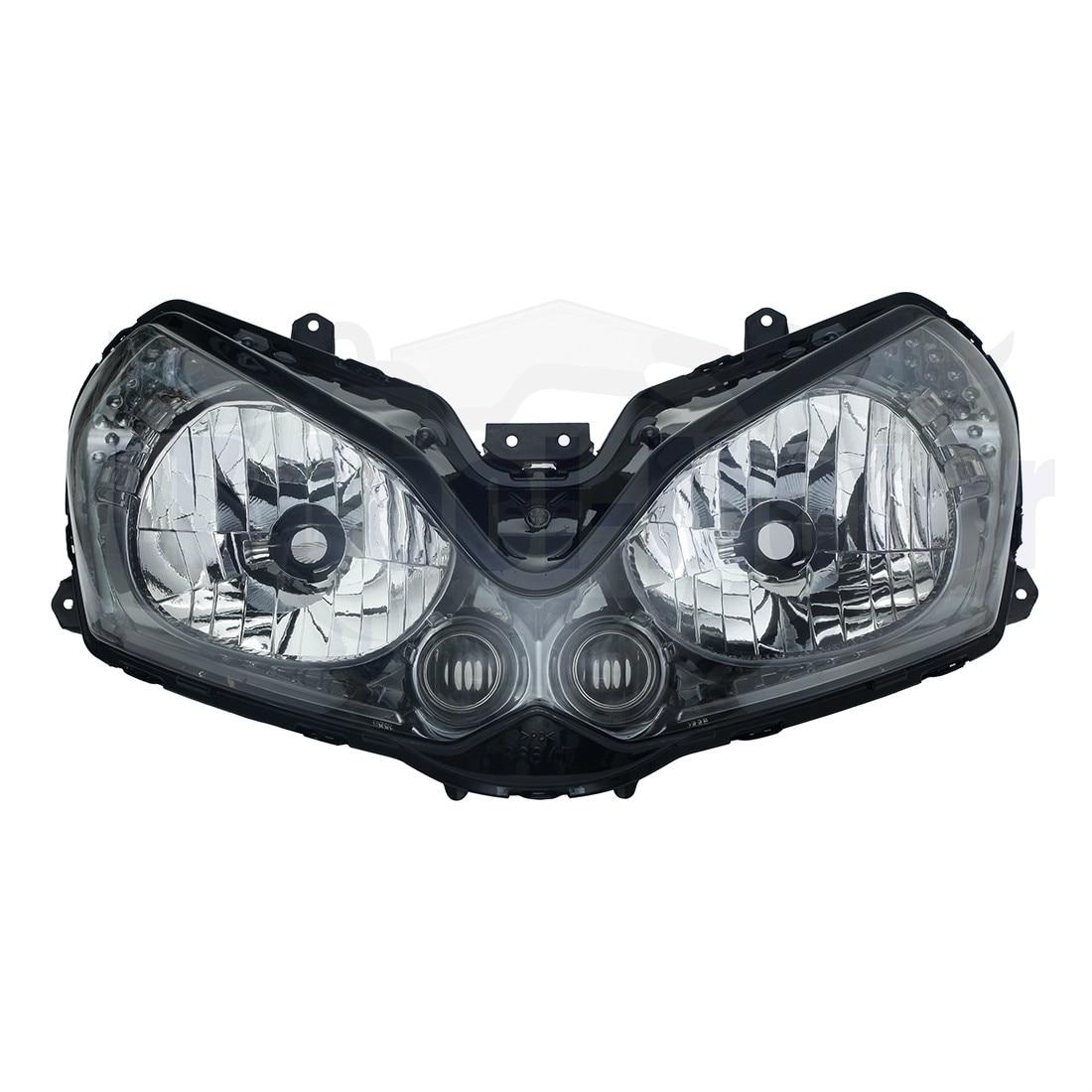 مصابيح تجميع المصابيح الأمامية للدراجة النارية لـ Kawasaki GTR1400 2008-2011 2009 2010