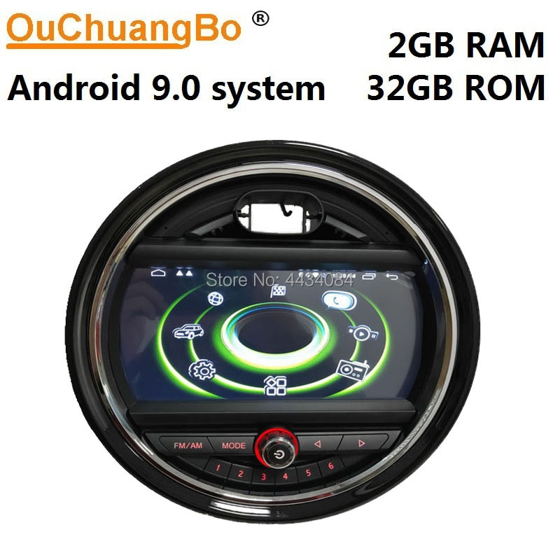 Ouchuangbo аудио gps радио головное устройство для Mini one cooper минимум F55 F56 F57 F60 2014-2019 поддержка 4 ядра USB WIFI android 9 0S