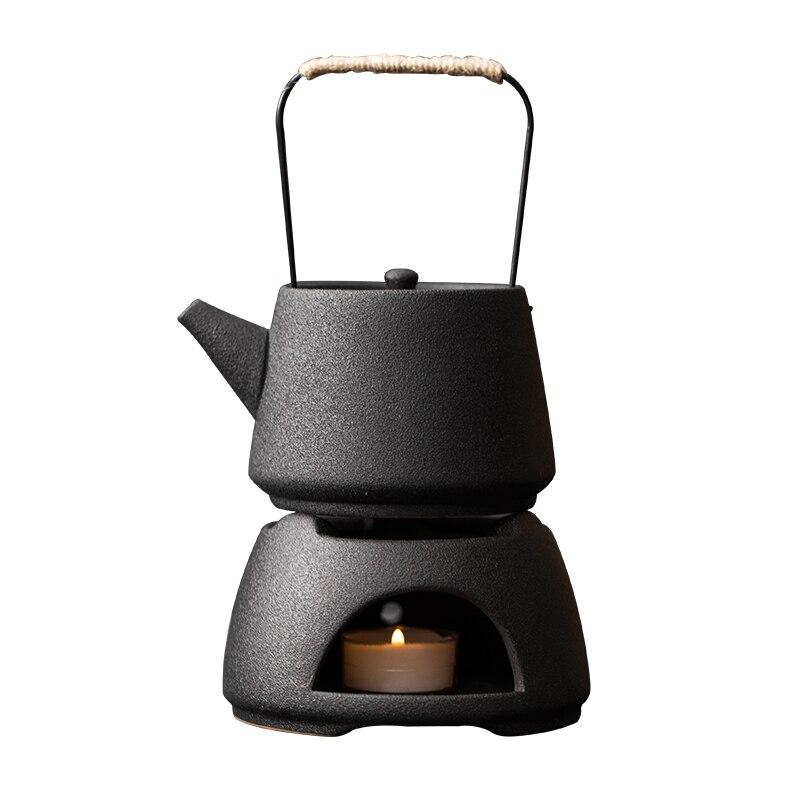 النمط الياباني الفخار إبريق الشاي للمنزل فندق مطعم سعة كبيرة شاي سيراميك وعاء الإبداعية فنجان شاي مجموعة هدية الزفاف