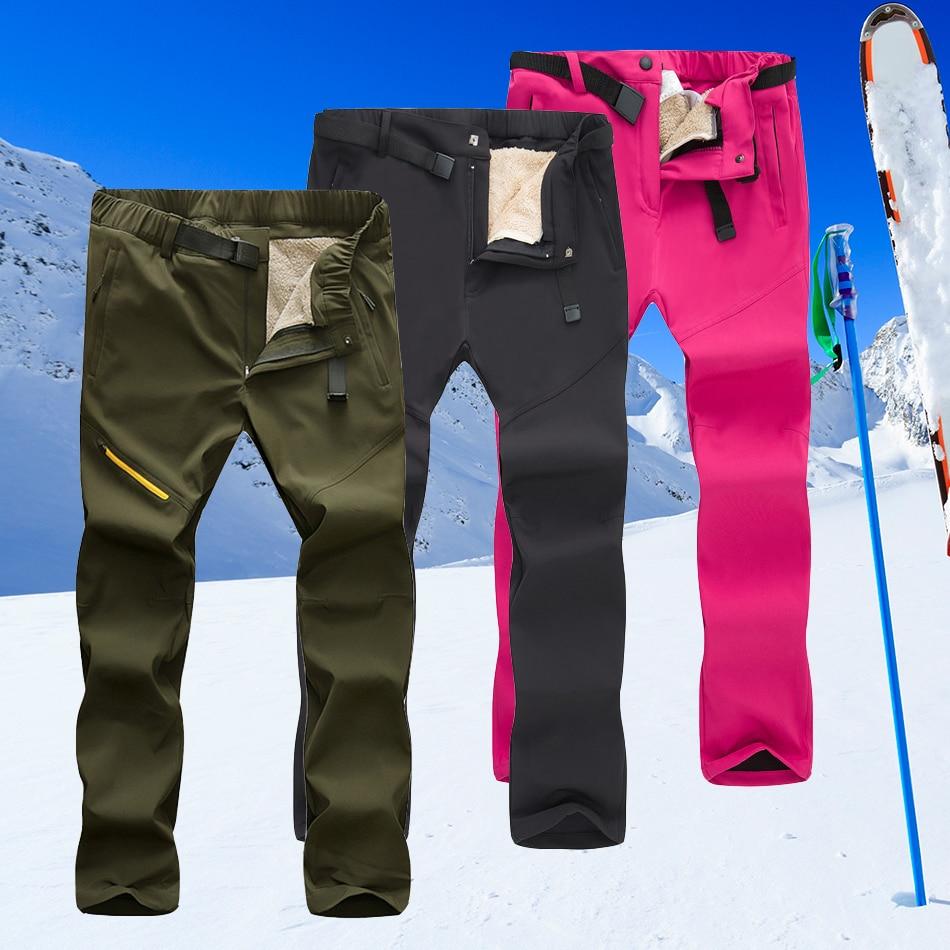 Skiing pants