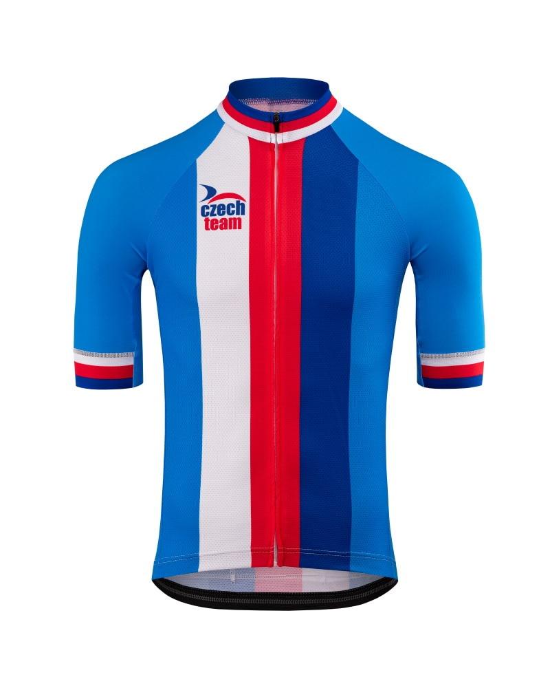 2020 czech team só camisa de ciclismo de manga curta roupas de bicicleta secagem rápida equitação bicicleta ropa ciclismo