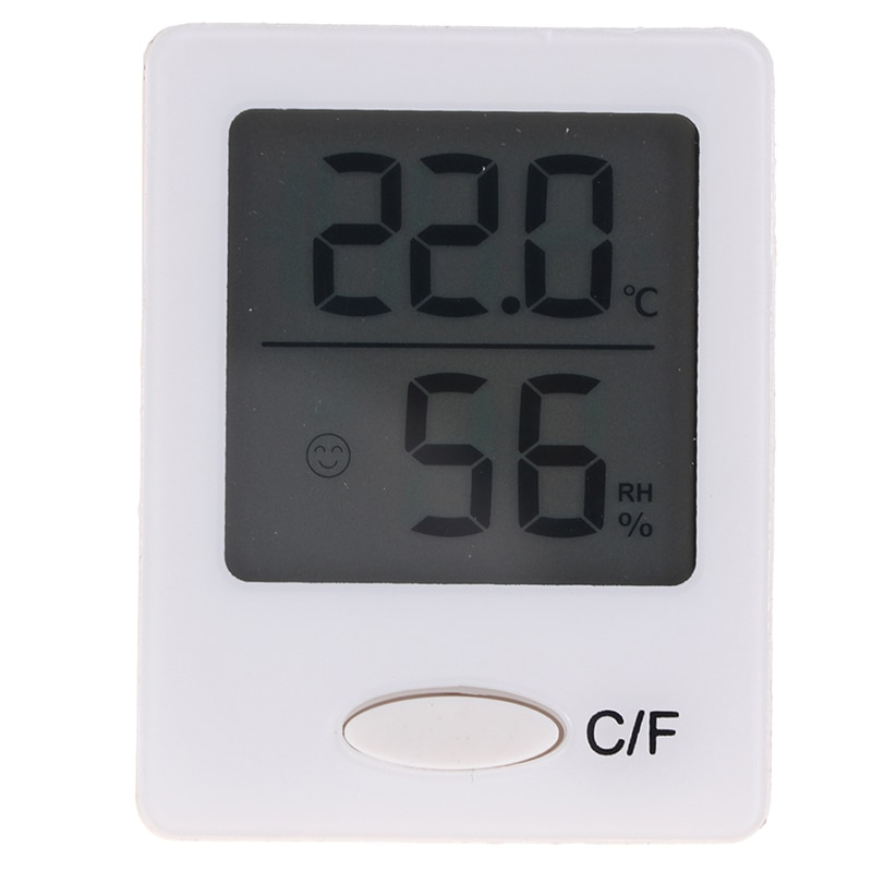 LCD Electronic Digital Temperature Humidity Meter Indoor Outdoor Thermometer Hygrometer Weather Stat