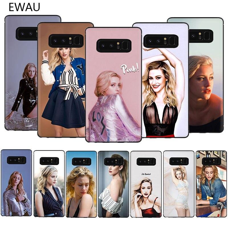 Funda para teléfono EWAU Lili reinstar TPU suave para Samsung Galaxy A3 A5 A6 7 8 9 2018 A10S 20S 30S 40S 50S 60 70