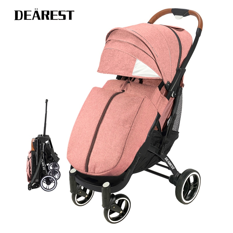 DEAREST Pro 2021 New Baby Trolley High Landscape Baby Stroller Double Faced Children Freeshipping In Four Seasons