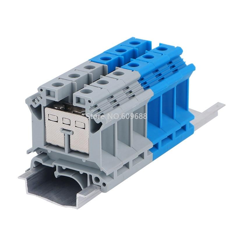 UK16N UK-16N 16MM2 carril Din eléctrico bloque de conectores de conector