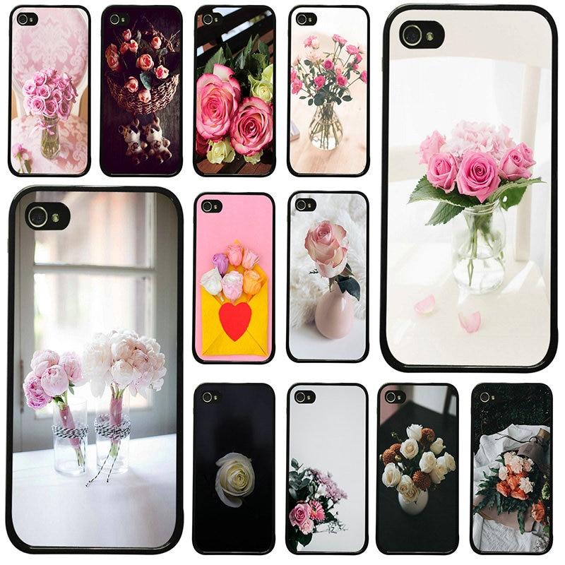 Tumblr aviso parental flores capa dura para iphone 8 7 6s plus x xr xs 11 pro max 5S 5 se 4 4S caso