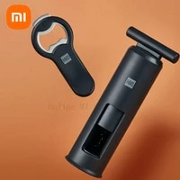 new xiaomi huohou bottle beer cans opener stainless steel automatic magnetic beer openers bar kitchen open wine tool