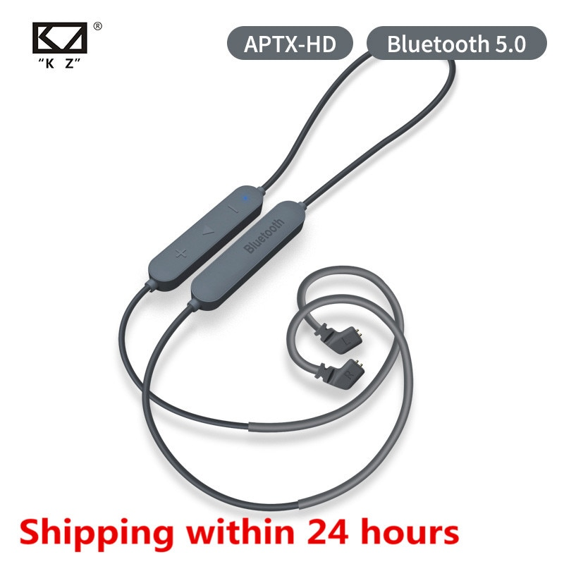 KZ Bluetooth 5,0 Kopfhörer Aptx HD CSR8675 Modul headset Upgrade Kabel Gilt Kopfhörer KZ AS10 ZST ES4 ZSN ZS10 AS16 ZSX C12