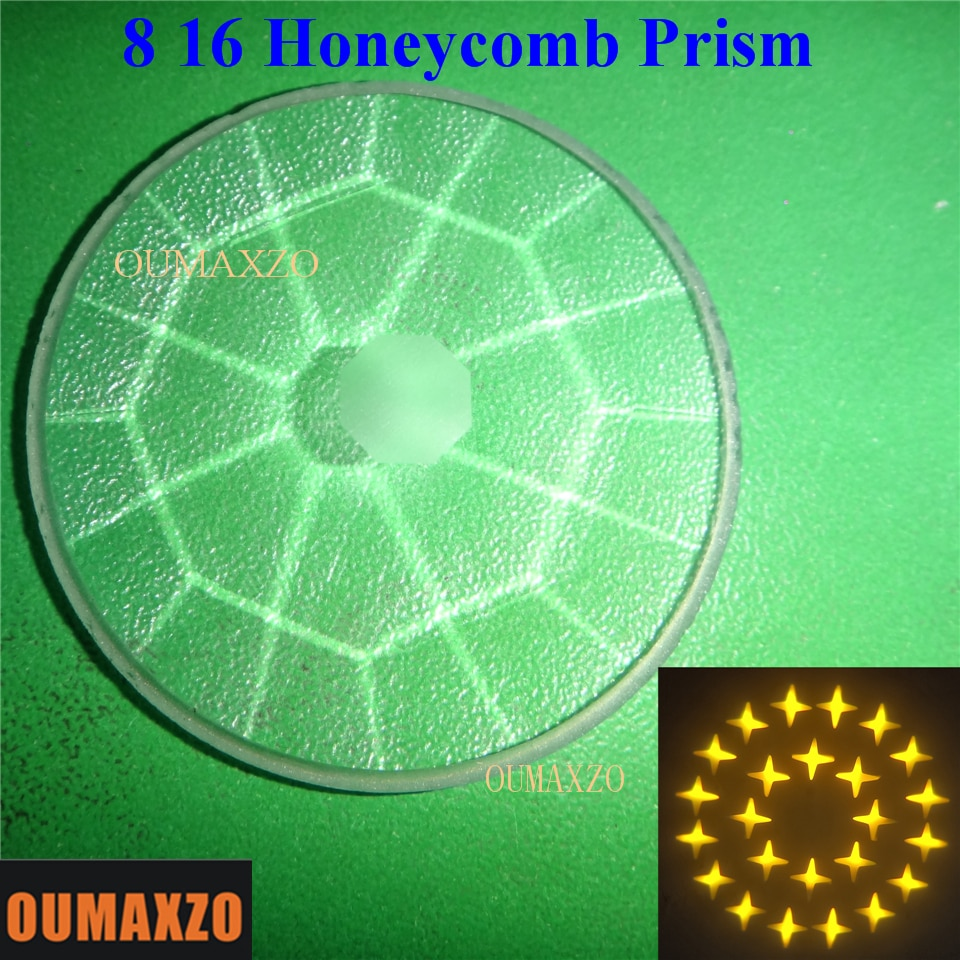 6PCS/LOT 200W230W 350W moving head spot Beam Light 8 16 24 32 Prism Honeycomb prism 7-color lens Beam Light Spare Parts