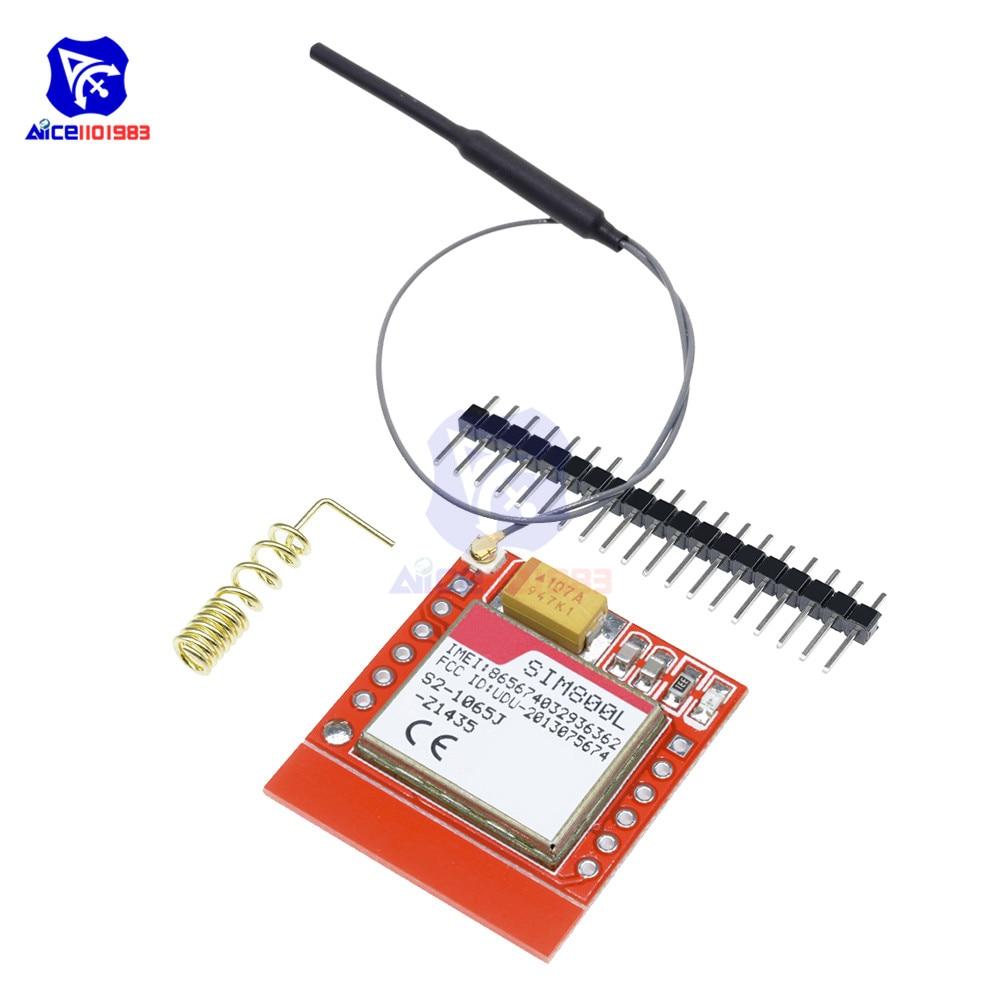 Diymore SIM800L GSM GPRS модуль Core четырехдиапаз�