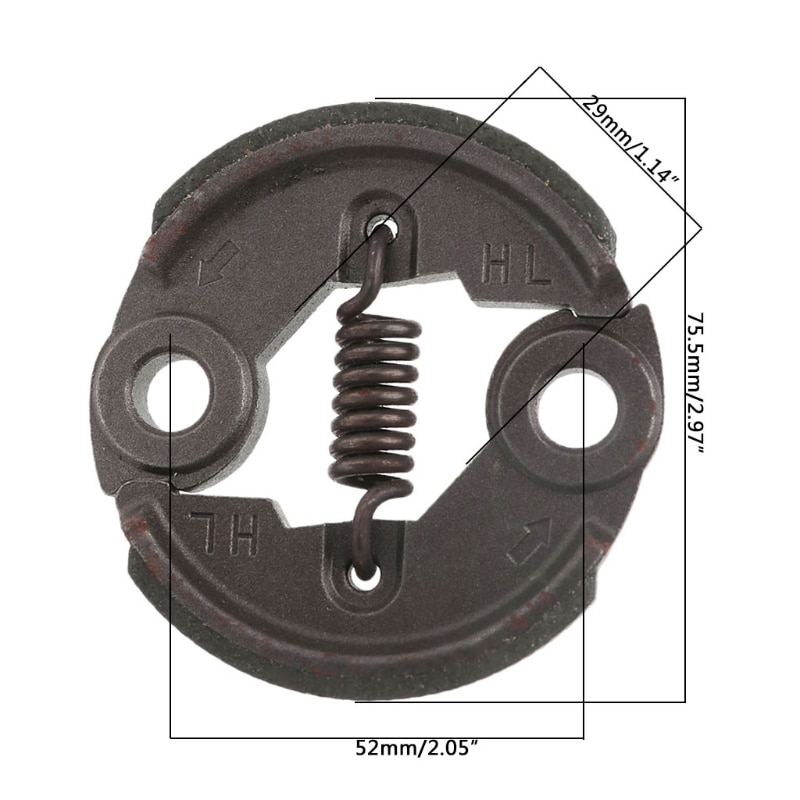 40-5 Brush Cutter Clutch Garden Tool Lawn Mower Grass Trimmer Parts Replacement Whosale&Dropship