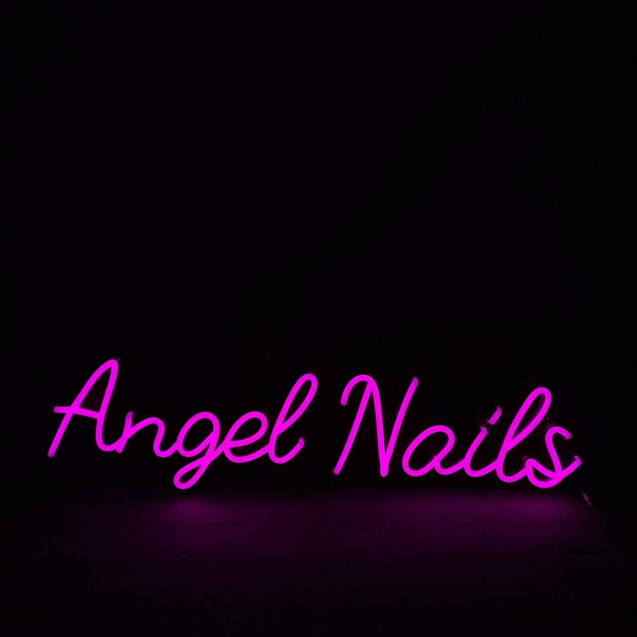 Personalized Neon Signs Wall Hanging Decor for Business Logo Slogan Barber Salon Led Neon Sign Nail Shop Neon Sign Board enlarge