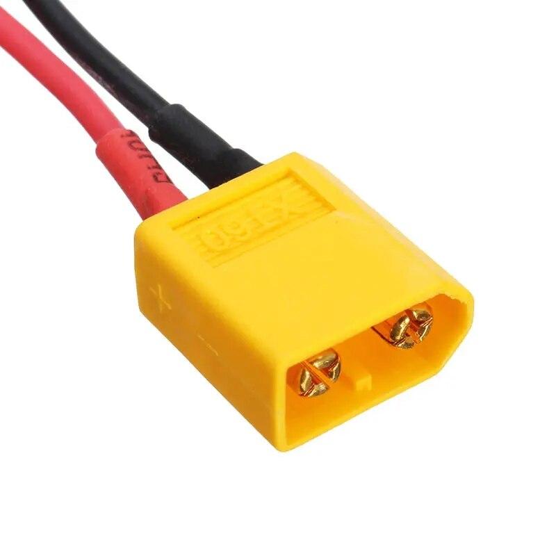 1 Uds XT60 hombre conector de enchufe hembra 16AWG 10cm Cable de...