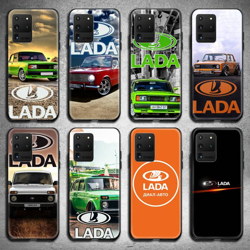 Russian National Automobile LADA Phone Case for Samsung S20 plus Ultra S6 S7 edge S8 S9 plus S10 5G