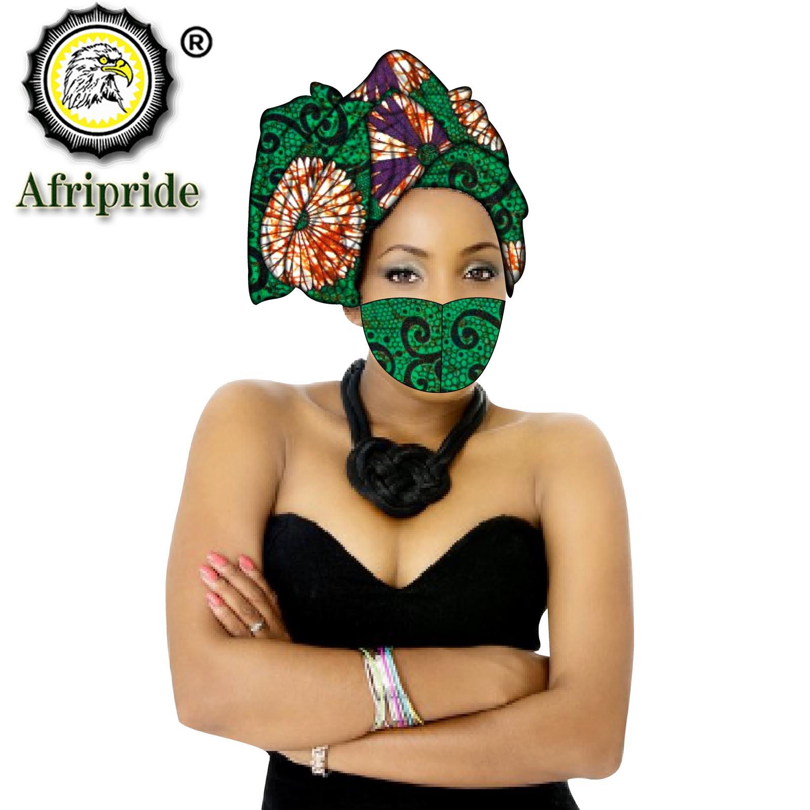 وشاح افريقي نسائي اكسسوار للشعر ، عمامة ، اكسسوارات شعر ، قبعة ، طباعة مطابقة ، S20H020