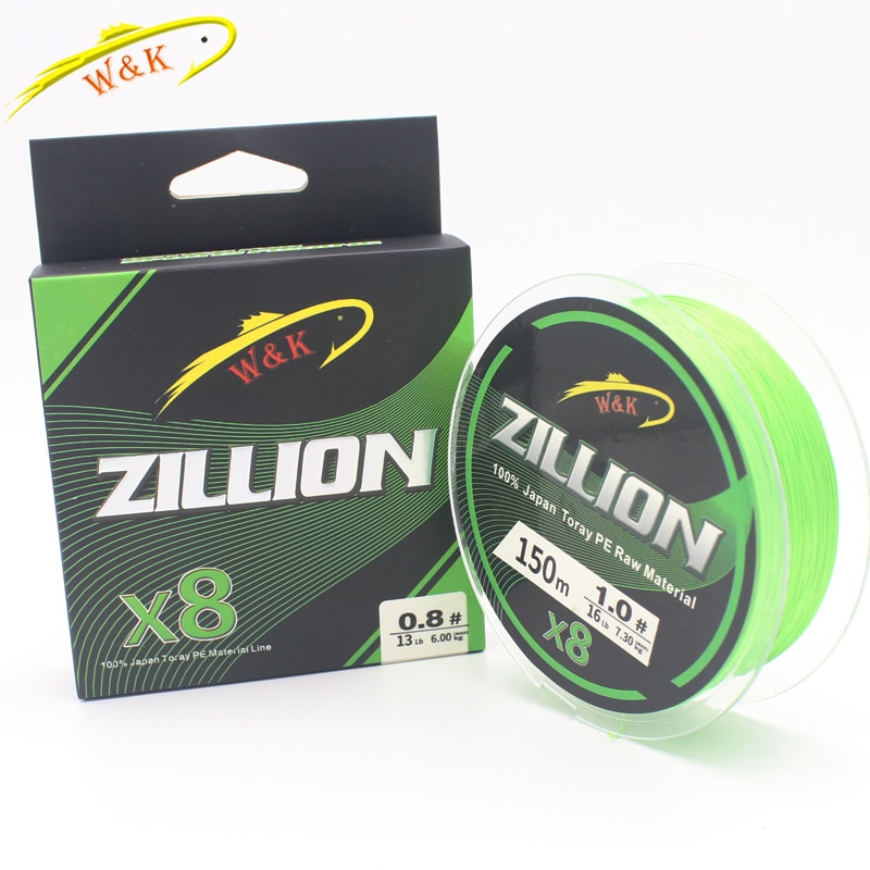 X8 Braided PE Lines at 150m Fishing Line Double Color Super Powered Braided Line
