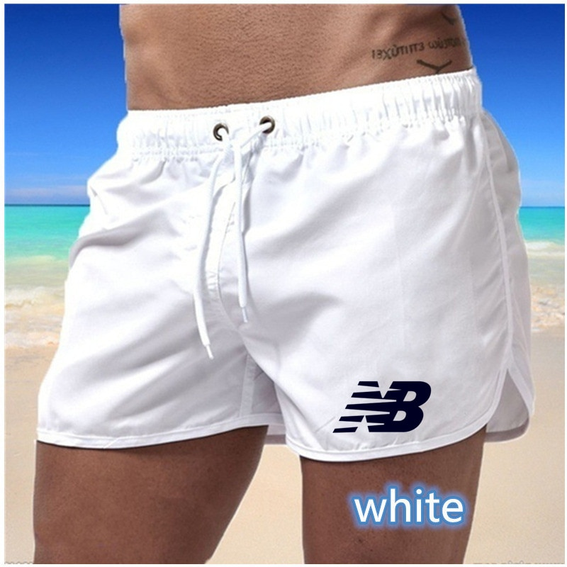 2021 fashion brand mens fitness sports beach summer new style printed drawstring shorts comfortable pants