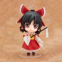 10cm touhou project hakurei reimu 74 q version baby action figure anime pvc collection model dolls toys gifts