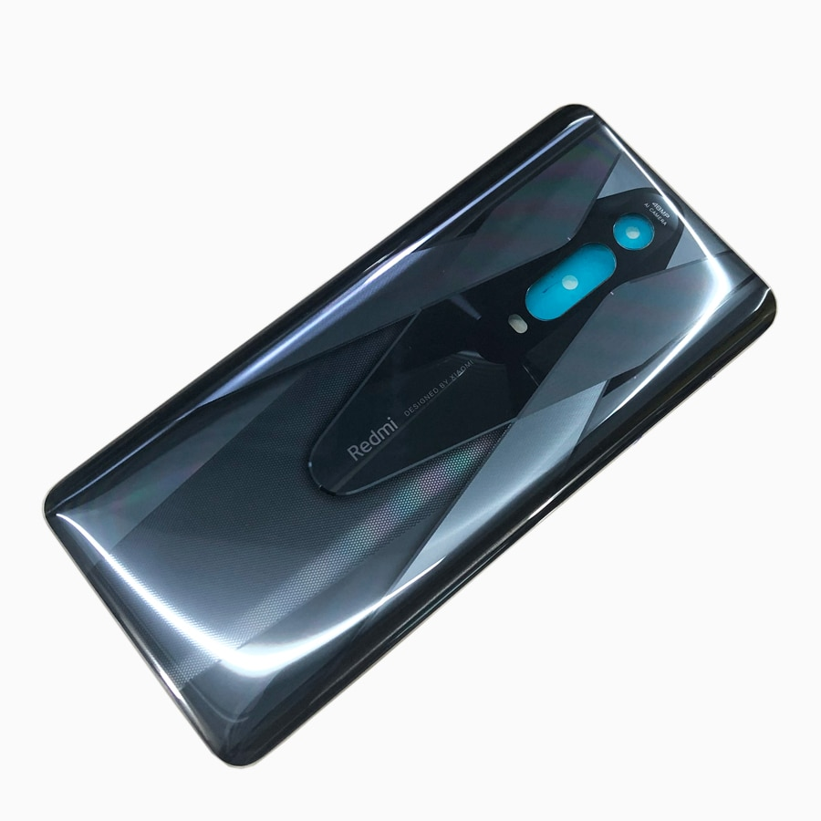100% Original Back glass Cover For Xiaomi Mi 9T MI9T pro Back Door Replacement Battery Case, Rear Housing Cover Black enlarge
