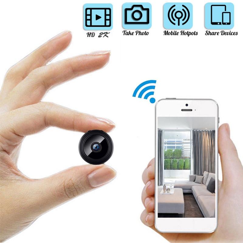 IP Wifi Mini Camera Surveillance Secret Cameras Remote Control Monitoring Security Protection Detect