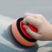 4 дюйма/100 мм, губка для восковой полировки автомобиля, полировальный коврик, губка, салфетка для мытья автомобиля, аппликаторы из микрофибры