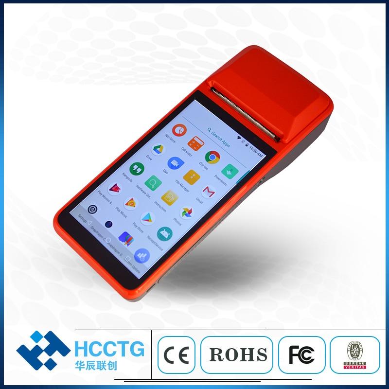 R330 الروبوت اللمس POS المحمولة الذكية POS محطة مع 4G 3G WIFI ماسح الرمز الشريطي بتقنية bluetooth الحرارية طابعة