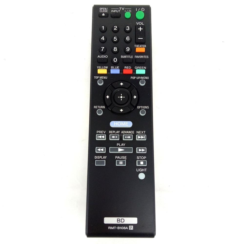Reproductor de DVD Original para SONY Blu-Ray, mando a distancia BD RMT-B108A...