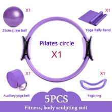 5 Pieces Pilates Circle Slimming Products Slimming Fat Burning Cellulite Massager Fitness Equipment