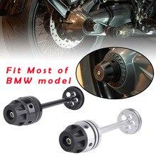 Protection contre choc pour BMW R1200GS 2007-2012 RnineT   Rééquipement arrière pour roue et essieu, embout de protection pour BMW R1200GS 2014-2018 RnineT-