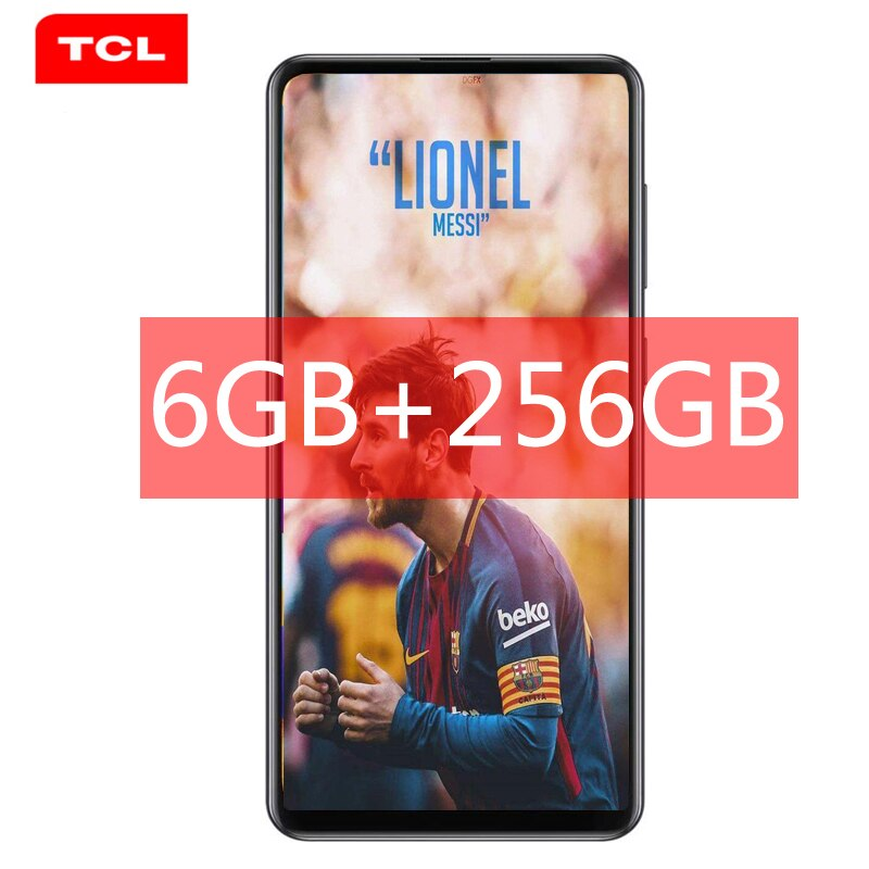 TCL 10L Pro Mobile Phone Quad AI Camera Smartphone 6GB RAM Android 11.0 OS Gaming Phone 4G Cellphone