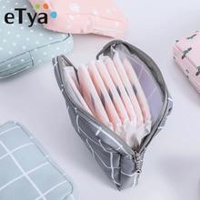 eTya Mini Women Cosmetic Bag Dot Travel Toiletry Storage Bag Beauty Makeup Bag Lipstick Cosmetic Bag