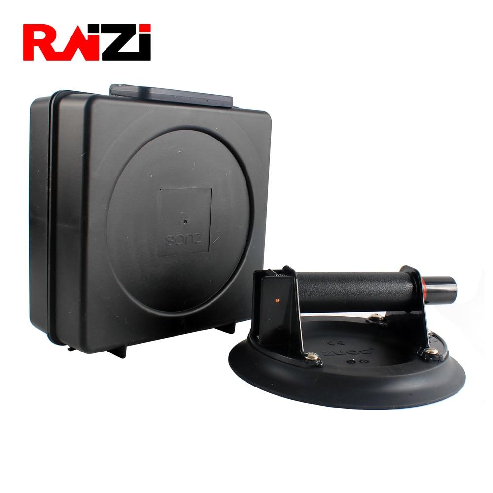Купить с кэшбэком Raizi 8 Inch Vacuum Suction Cup with ABS handle Heavy Duty Vacuum Lifter for Granite Tile Glass Manual Lifting Handling Tool