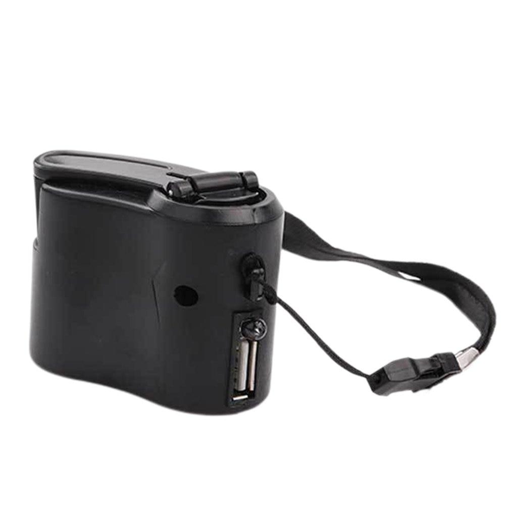 Handy Notfall Power USB Handkurbel Ladegerät Elektrische Generator Universal Mobile Ladung Hand Dynamo Lade