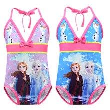 جديد 2019 بنات واحدة قطعة ملابس السباحة الاطفال Vampirina الفتيات الكرتون ملابس السباحة الصيف ملابس بحر لباس سباحة G48-7910