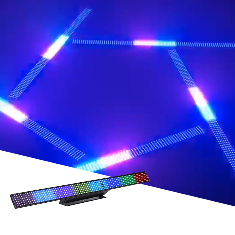 480 Pcs LED Strobe Running Horse Light 8CH/26CH DMX Full Color Stage Wall Washer Light For DJ Disco Party Wedding Effect Light