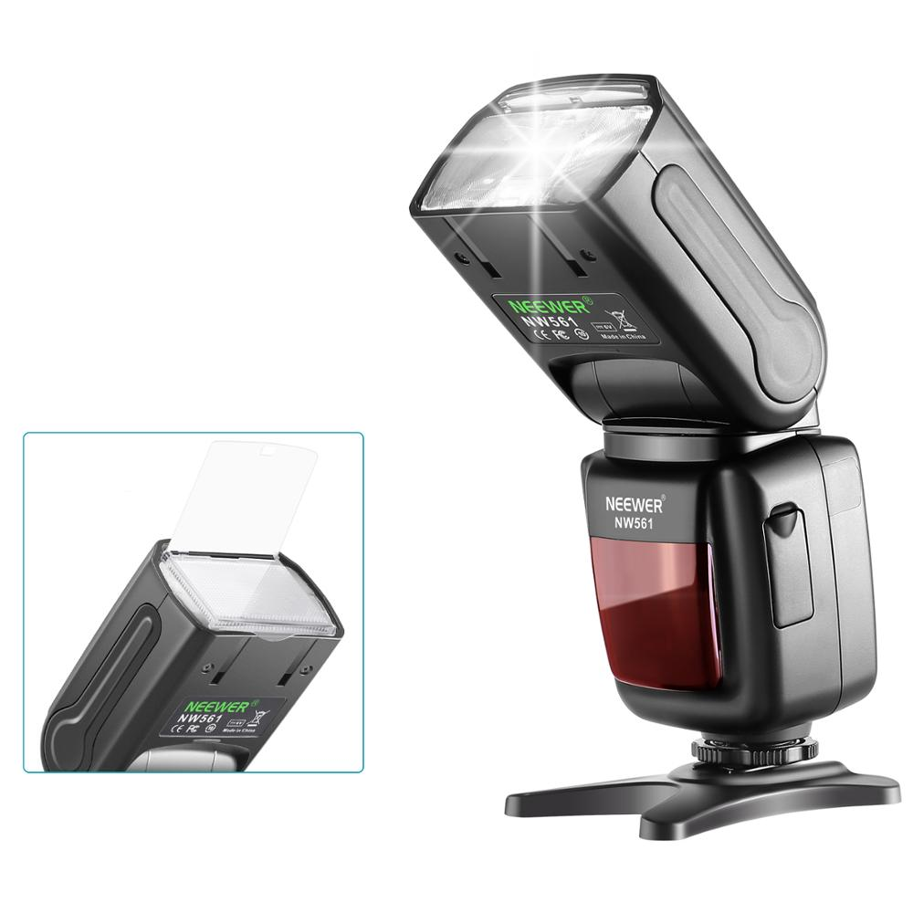 Neewer NW-561 Flash Professional Speedlite TTL Camera Flash with CT-16 Wireless Trigger for Digital SLR Camera