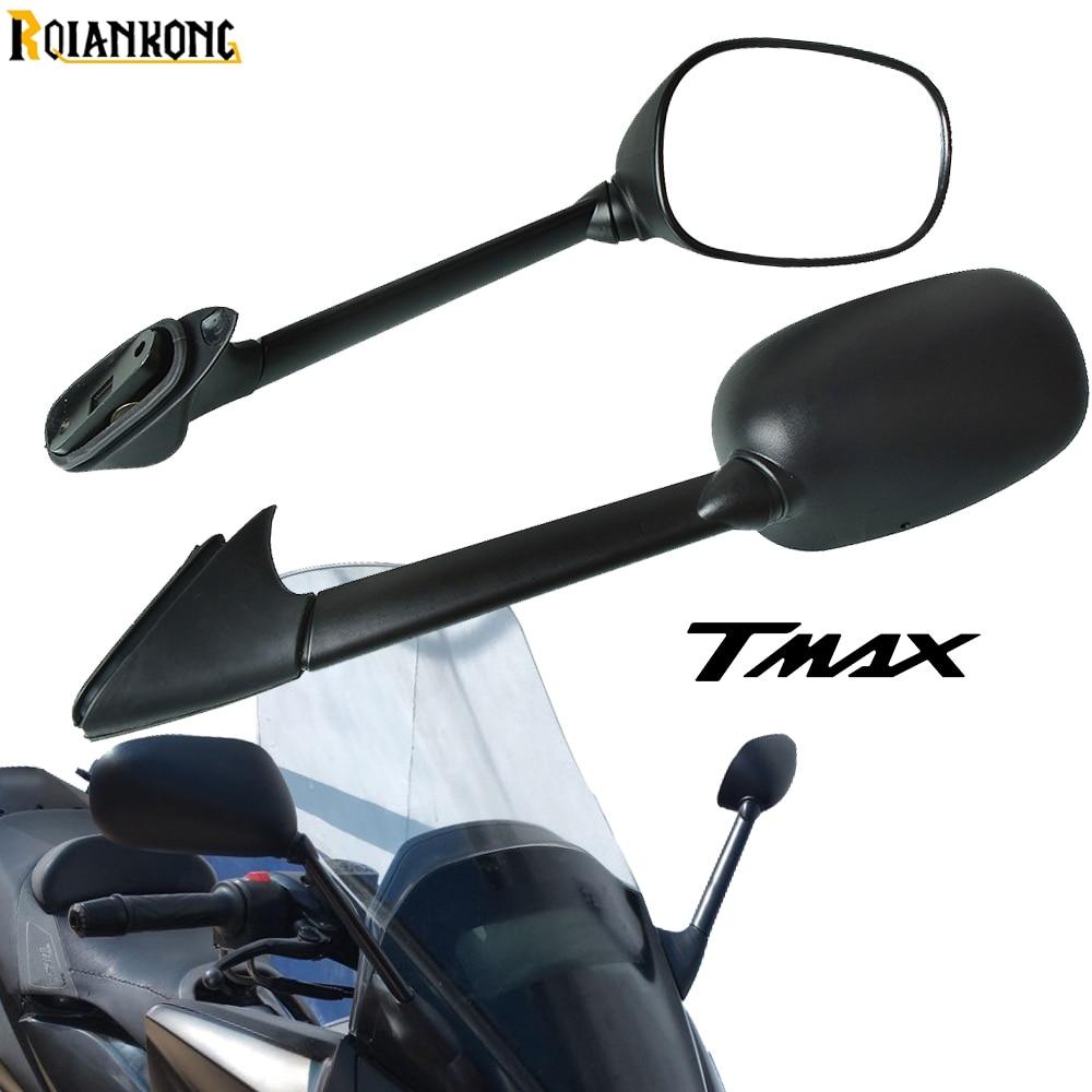 مرآة جانبية زجاجية للدراجات النارية ، مرآة دراجة نارية CNC لـ Yamaha T-max ، TMAX 500/530 ، 2001-2011 ، 2010 ، 2009 ، 2008 ، 2007 ،