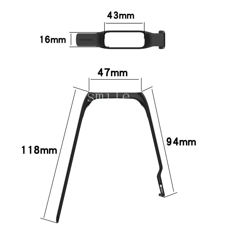 Купить с кэшбэком Soft Silicone Sport Strap For Samsung Galaxy Fit2 R220 Bracelet Replacement Watchband Wriststrap Accessories