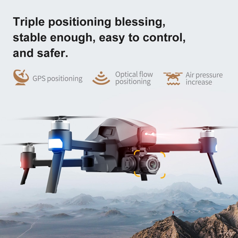 2021 M1 Pro 2 drone 4k HD mechanical 2-Axis gimbal camera 5G wifi 8