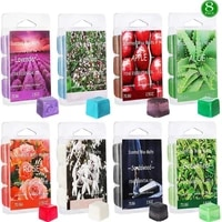 aromatherapy wax aroma soy wax melting agent melting oil boxedgift of plant esse agent mixed six wax box aromatherapy types m9r5
