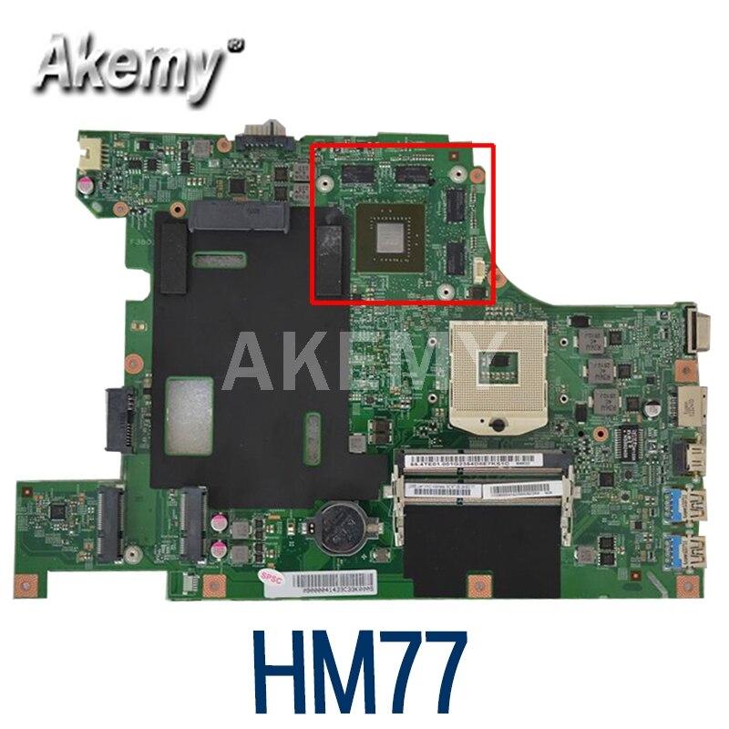 48.4TE05.011 لينوفو B590 B580 V580C اللوحة المحمول FRU:90001562 90000414 اللوحة غيفورسي 640M 2GB HM77 100% اختبار