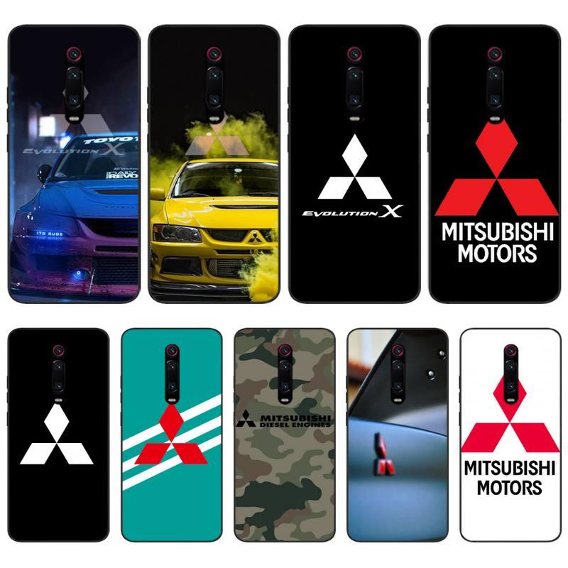 Funda de silicona para coche Mitsubishi Motors funda de teléfono para Xiaomi...