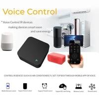 Min     telecommande intelligente WiFi IR  fonctionne avec Tuya  Amz  Alexa  Google Home  pour maison connectee  Compatible avec Alexa