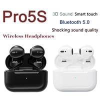 original pro5s tws fone bluetooth earphones true wireless audifonos earbuds gaming handfree soundpeats with mic for smart phone
