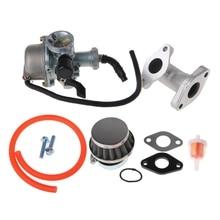 Filtre à Air de tuyau dadmission du carburateur PZ22 de carburateur de carburateur de 22mm pour 110cc 125cc ATV Quad Pit Pro livraison directe de vélo de piste de saleté n21