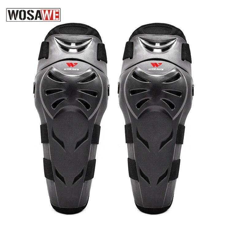 WOSAWE Motorcycle Knee Pads Protection Moto Knee Guard Racing Motocross Protective Guard Gear MTB Knee Protector Kneepads enlarge